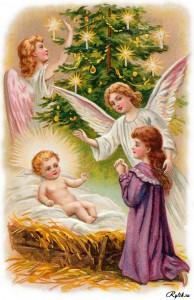 Крошку-ангела в сочельник Бог на землю посылал