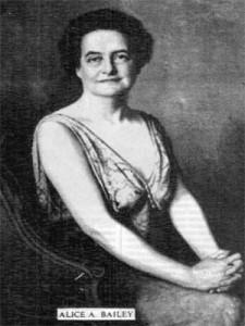 Алиса А. Бейли.