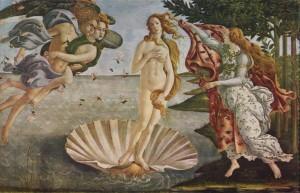 Сандро Боттичелли-Рождение Венеры