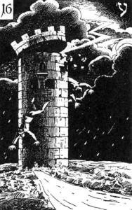 Башня, аркан Таро