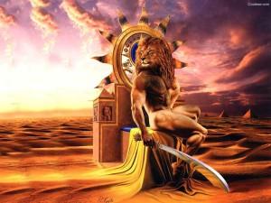 Верблюд, Лев, Ребенок