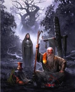 Ведьма и колдун – «сладкая парочка» русских поверий