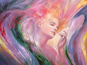Любовь - это вся жизнь женщины.