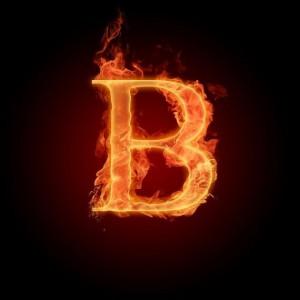 """символ """"Б"""" (В)"""