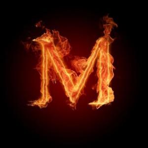 символ М