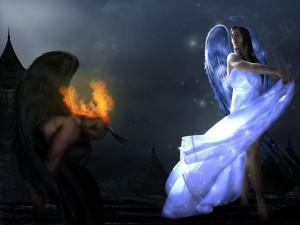 Сказка Дьявол и девушка